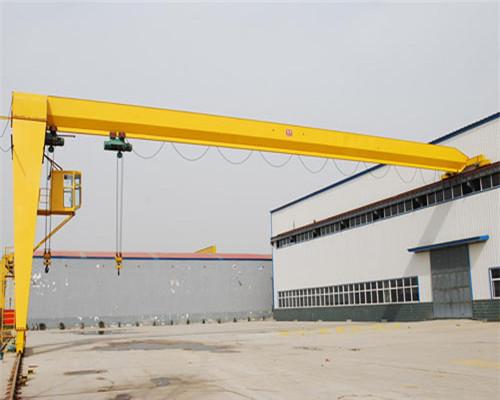 Single leg gantry crane with high quality for sale