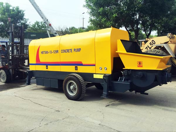 hydraulic concrete pump for sale