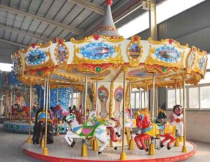 The Benefits Of The Outdoor Carousel For Kids