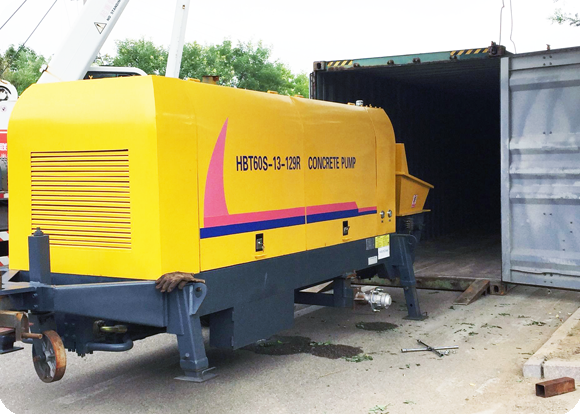 mobile concrete pump for sale in pakistan