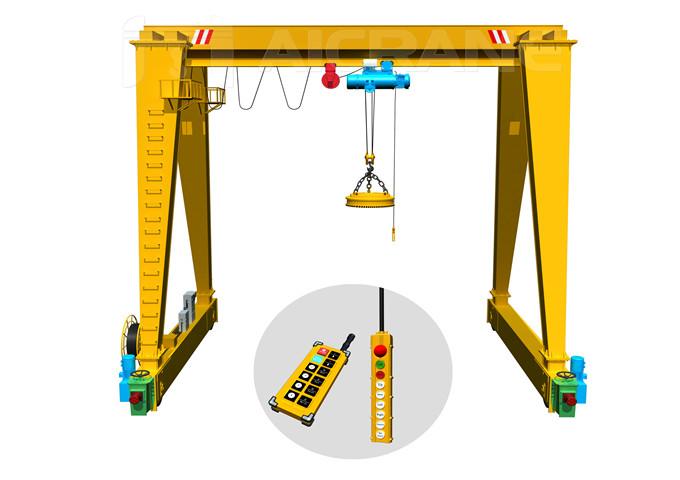 Reliable price gantry magnetic crane